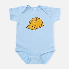 Hard hat construction helmet Infant Bodysuit