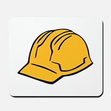 Hard hat construction helmet Mousepad
