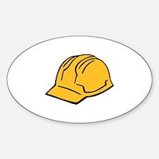 Hard hat construction helmet Decal
