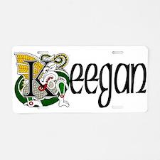 Keegan Celtic Dragon Aluminum License Plate