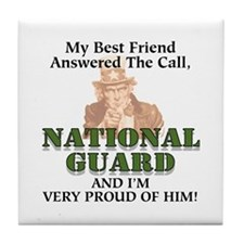 USNG He's My Best Friend Tile Coaster