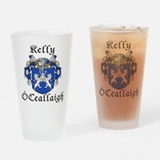 Kelly In Irish & English Pint Glass