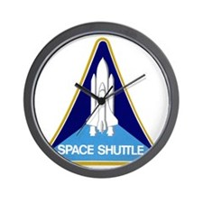 Original Space Shuttle Insignia Wall Clock