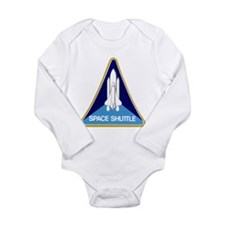 Original Space Shuttle Insignia Long Sleeve Infant