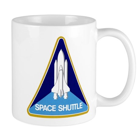 Original Space Shuttle Insignia Mug