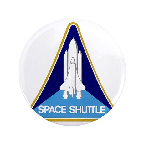 """Original Space Shuttle Insignia 3.5"""" Button"""