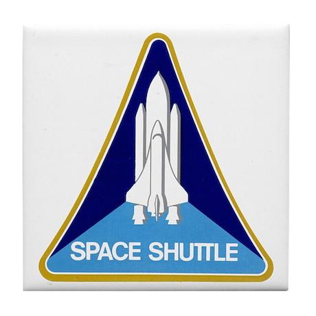 Original Space Shuttle Insignia Tile Coaster