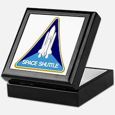 Original Space Shuttle Insignia Keepsake Box