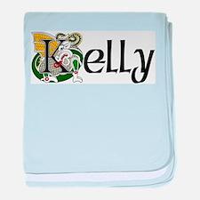 Kelly Celtic Dragon baby blanket