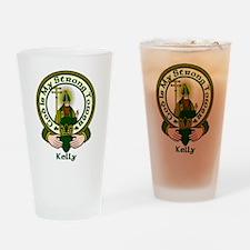 Kelly Clan Motto Pint Glass