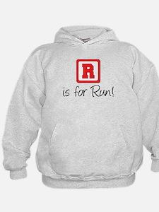 R Is For Run Hoodie