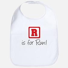 R Is For Run Bib