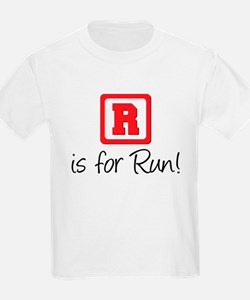 R Is For Run T-Shirt