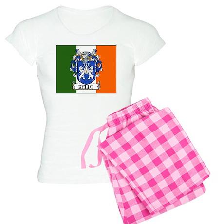 Kelly Arms Irish Flag Women's Light Pajamas