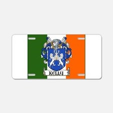 Kelly Arms Irish Flag Aluminum License Plate