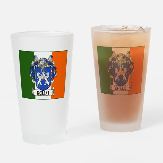 Kelly Arms Irish Flag Pint Glass