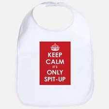 Keep Calm it's Only Spit-Up Bib