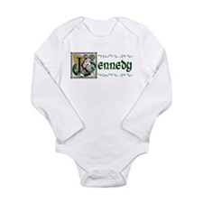 Kennedy Celtic Dragon Long Sleeve Infant Bodysuit