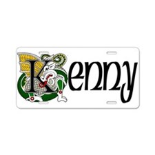 Kenny Celtic Dragon Aluminum License Plate