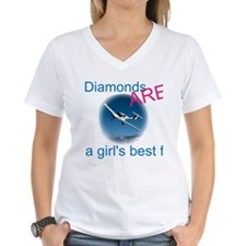 Diamonds ARE a girl's best fr Shirt