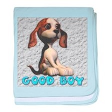Good Boy baby blanket