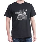 Two wheels move the soul Dark T-Shirt