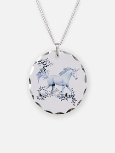 Unicorn-MP Necklace Circle Charm