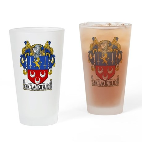 McLaughlin Coat of Arms Pint Glass