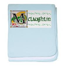 McLaughlin Celtic Dragon baby blanket