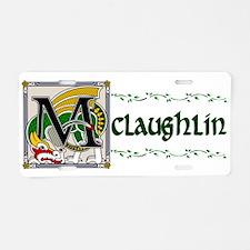 McLaughlin Celtic Dragon Aluminum License Plate