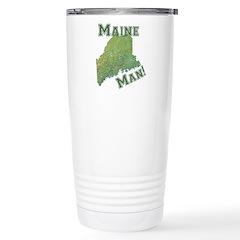 Maine Man Stainless Steel Travel Mug
