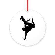 Break dance Ornament (Round)