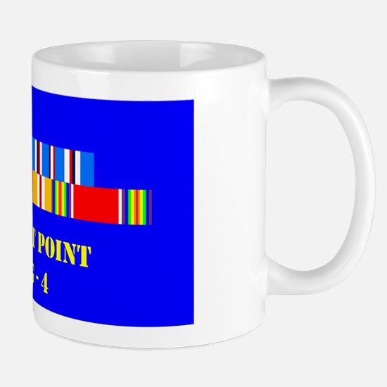 USS West Point AVG-4 Mug