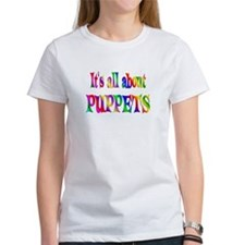 About Puppets Tee