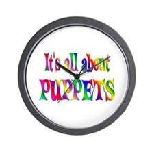 About Puppets Wall Clock