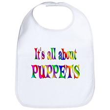 About Puppets Bib