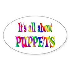 About Puppets Decal
