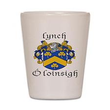 Lynch In Irish & English Shot Glass