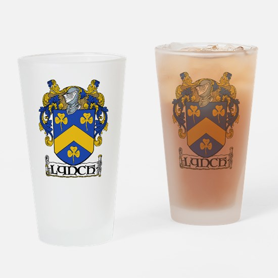 Lynch Coat of Arms Pint Glass