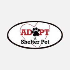 Adopt a Shelter Pet Patches