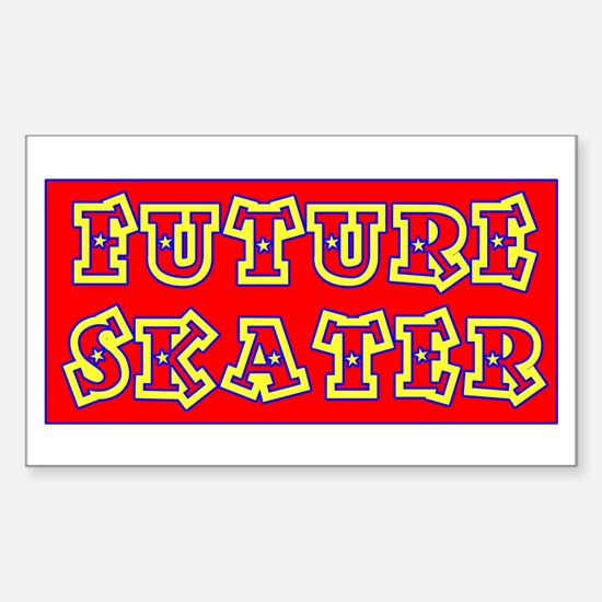 Future Skater Rectangle Decal