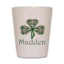 Madden Shamrock Shot Glass