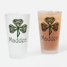 Madden Shamrock Pint Glass