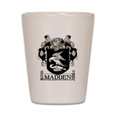 Madden Coat of Arms Shot Glass