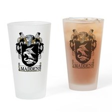 Madden Coat of Arms Pint Glass