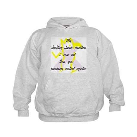 Chronic Condition Quote Kids Hoodie