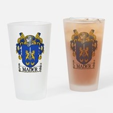 Maher Coat of Arms Pint Glass