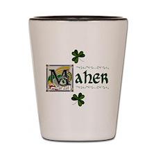 Maher Celtic Dragon Shot Glass