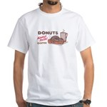 Donuts White T-shirt