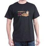 Donuts Black T-Shirt